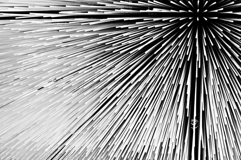 Abstract black and white pattern royalty free stock image