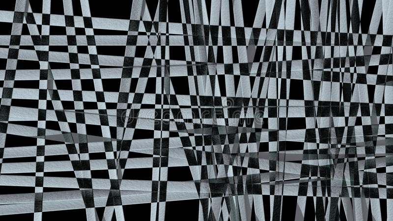 Abstract black and white pattern background vector illustration