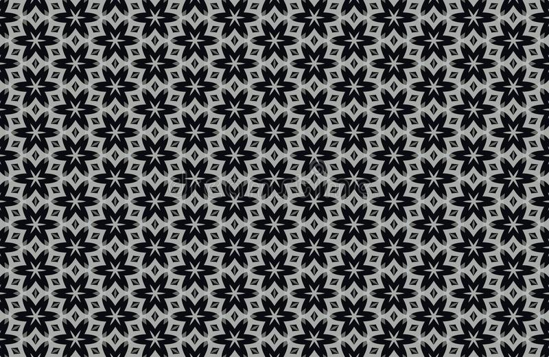 Abstract Black And White Patterns Background Stock Image Image of