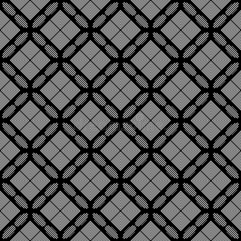 Abstract black and white repeated triangles geomatrical design pattern vector illustrations. Many uses for advertising, book page, paintings, printing, mobile vector illustration