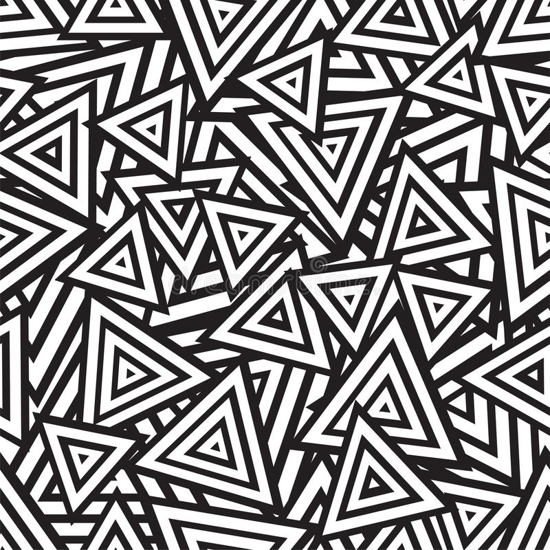 Download abstract black and white seamless pattern vector stock vector illustration of scratch