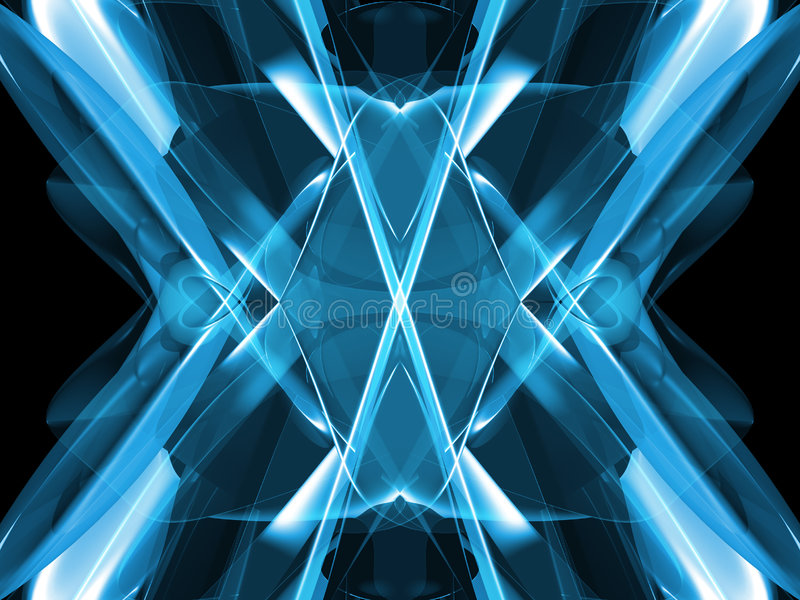 Abstract blauw vector illustratie