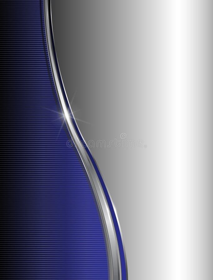 Abstract blauw als achtergrond vector illustratie