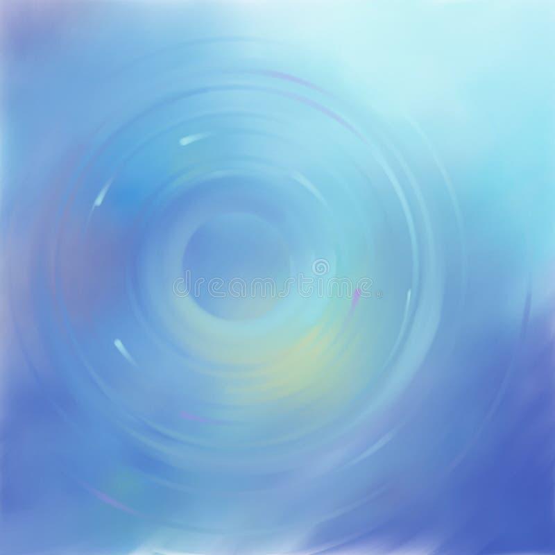 Abstract blauw art. royalty-vrije stock afbeeldingen