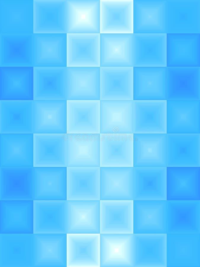 Abstract Blauw Ijs royalty-vrije illustratie