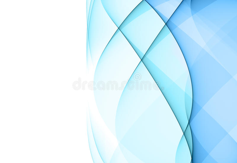 Abstract blauw ontwerpelement vector illustratie
