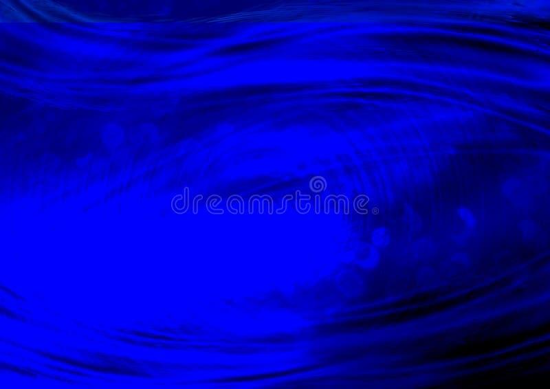 Abstract blauw van de onduidelijk beeldgolf ontwerp Als achtergrond stock illustratie