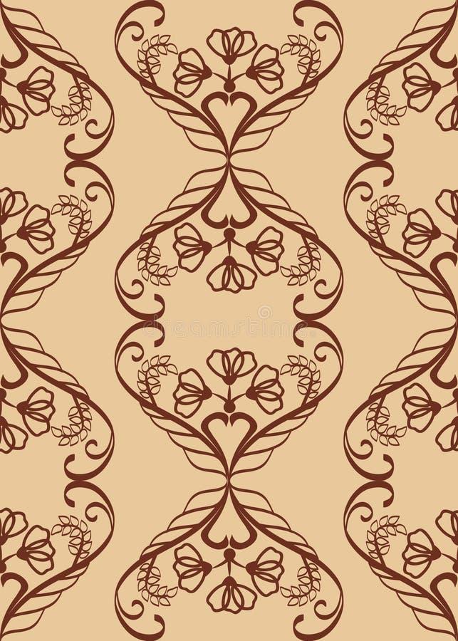 Abstract bloemenpatroon vector illustratie