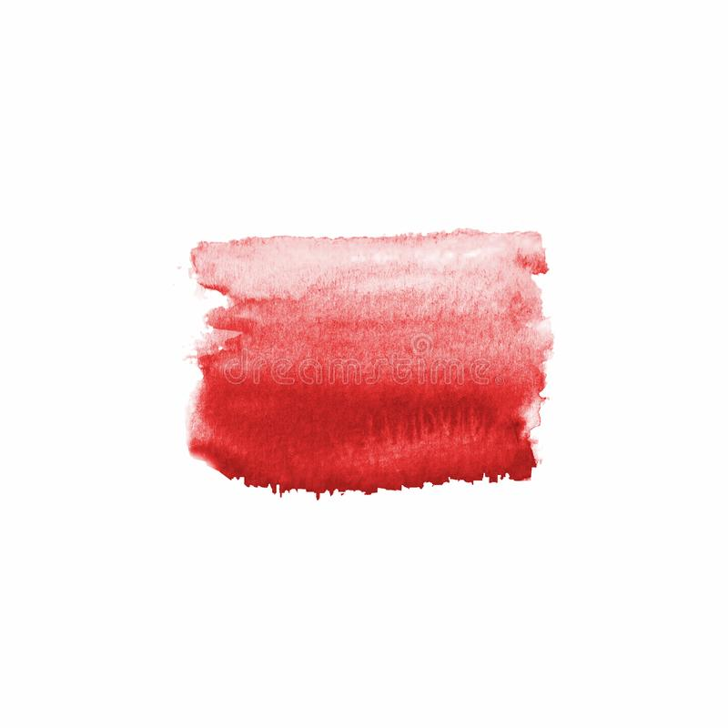 Abstract blood red stain stock photo