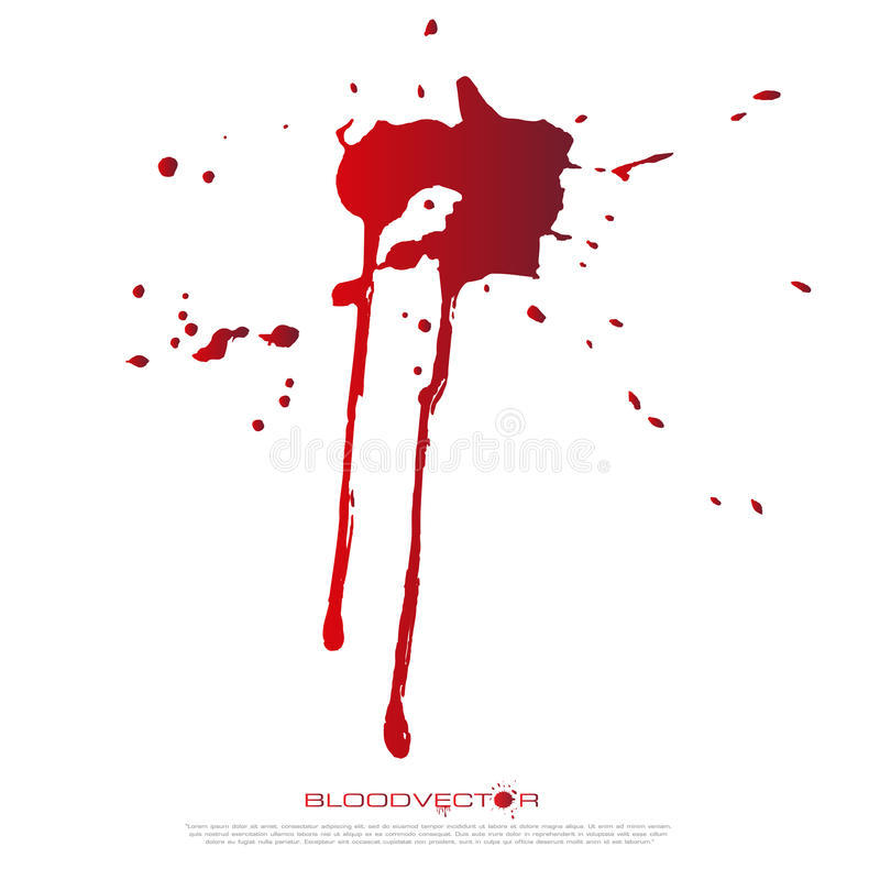 abstract blood splatter isolated on white background vector des rh dreamstime com blood splatter vector images blood splatter vector art free
