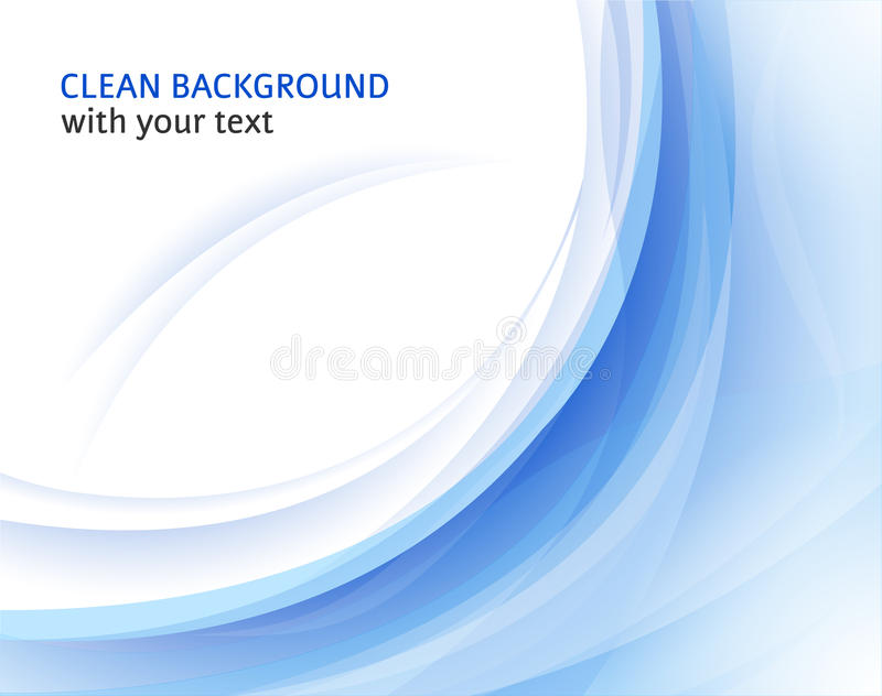 Abstract blue background stock illustration