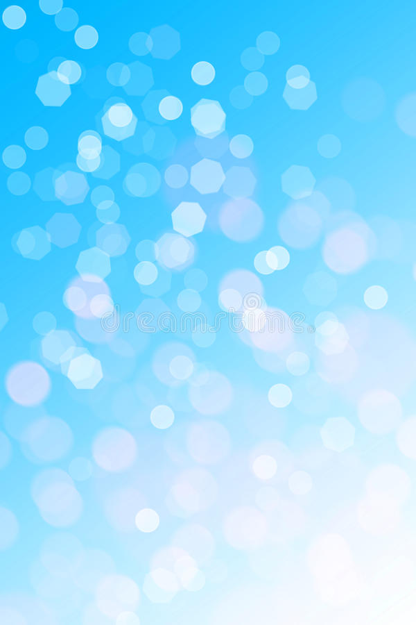 Abstract blue background. (bokeh effect