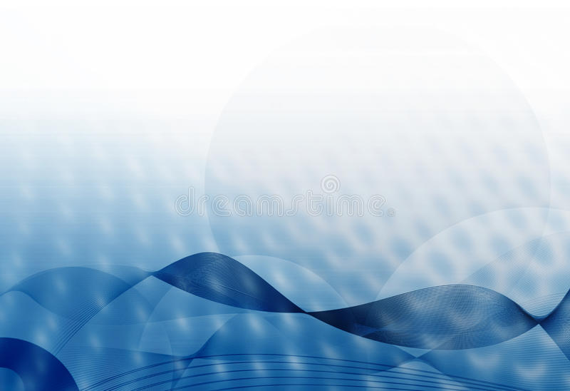 Abstract blue background. Blur blue and white abstract background concept vector illustration