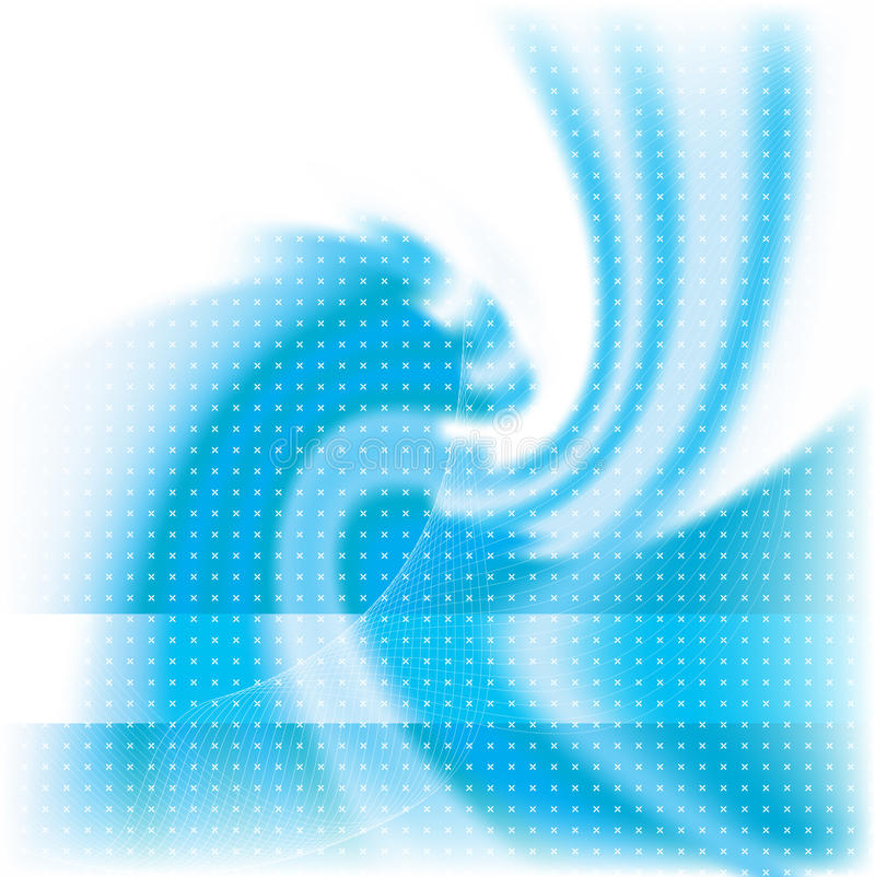 Download Abstract blue background stock vector. Image of wave, rays - 9632883