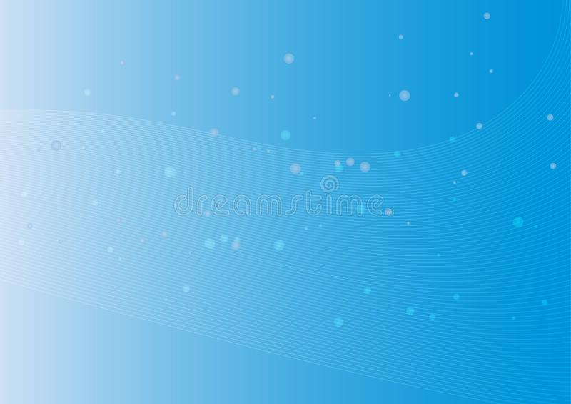 Abstract blue background defocused lights. Is a general illustration vector illustration
