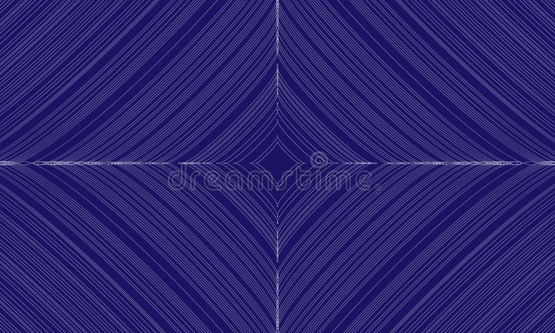Abstract blue background with lines and stars. Vector illustration. EPS10 stock illustration