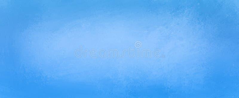 Pretty Blue Background With Vintage Texture Grunge On Dark