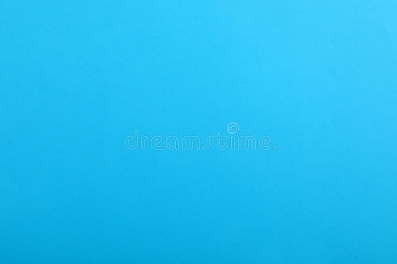 Abstract blue background, top view. Colorful paper stock photography