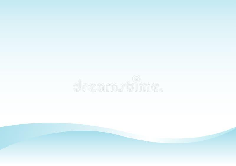 Abstract_blue_background1 illustration de vecteur