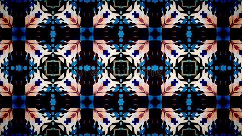 Abstract blue black white orange shine color wallpaper royalty free stock photo