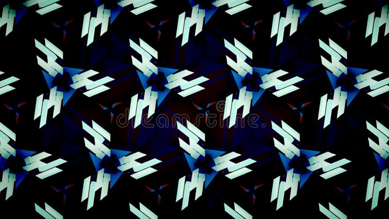 Abstract blue black white orange shine color wallpaper stock images