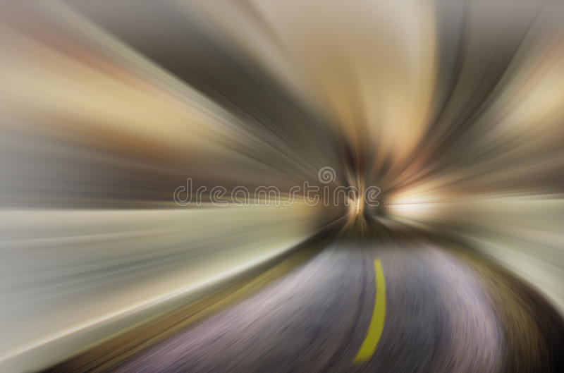 Abstract blue blurred background-Acute curve stock photos