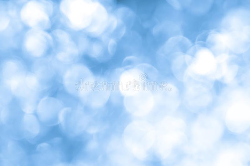 Abstract blue bokeh background. Abstract blue bokeh texture background royalty free stock photos