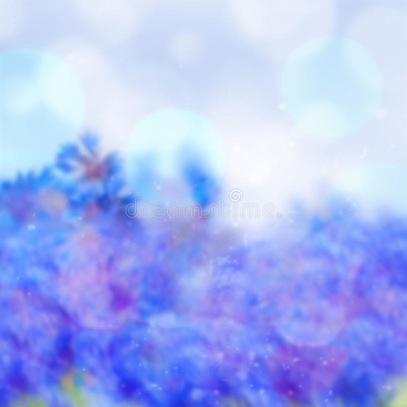 Download Abstract Blue Bokeh Background With Bubbles Stock Image - Image of elegant, festive: 39512341