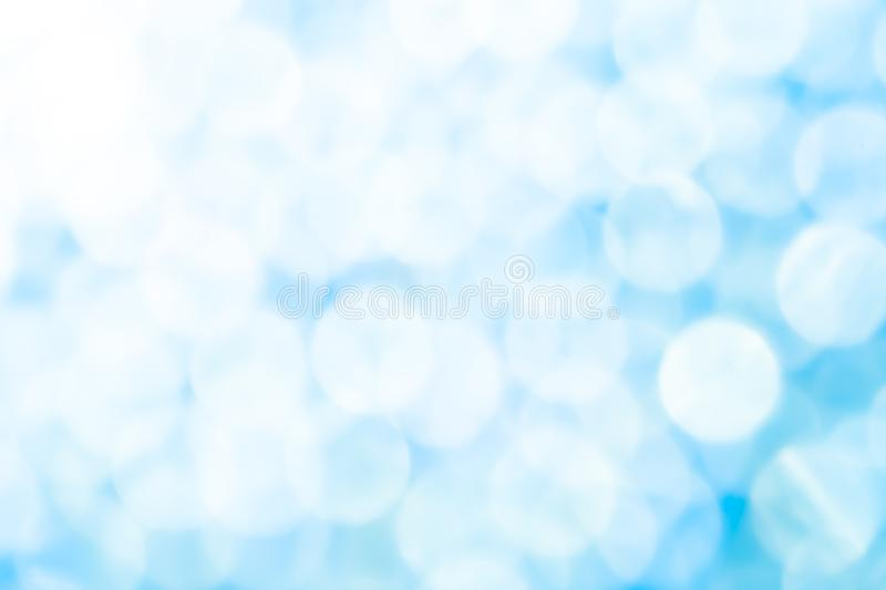 Abstract blue bokeh background. Abstract blue color bokeh background stock images