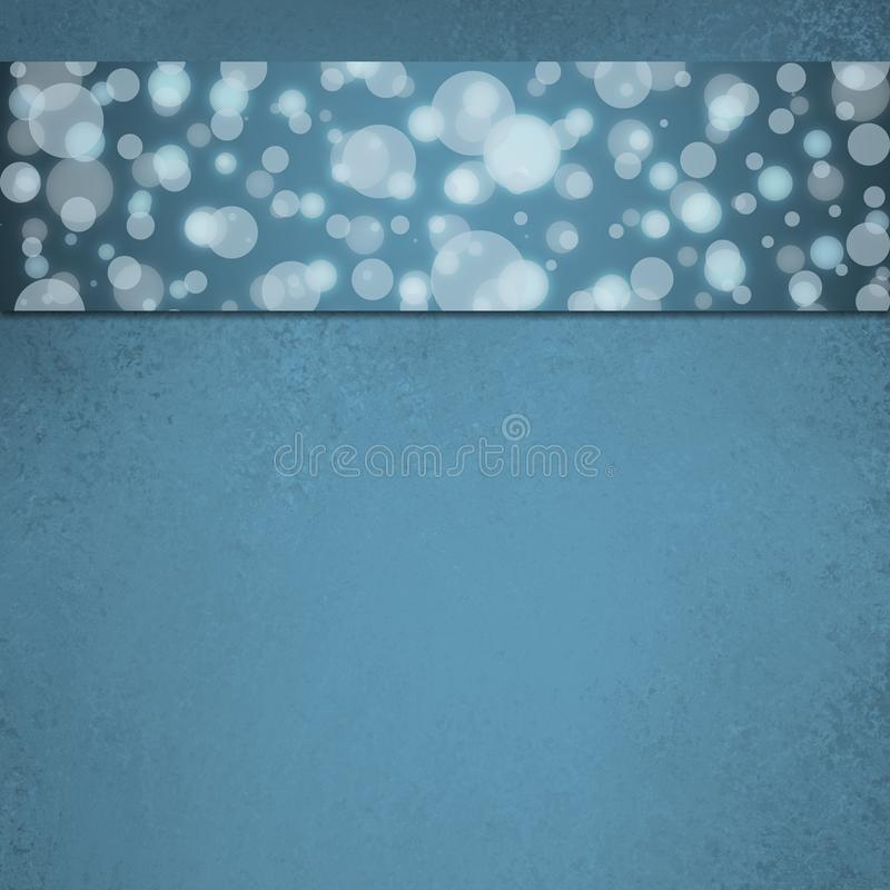 Abstract blue bubble background web design royalty free stock photo