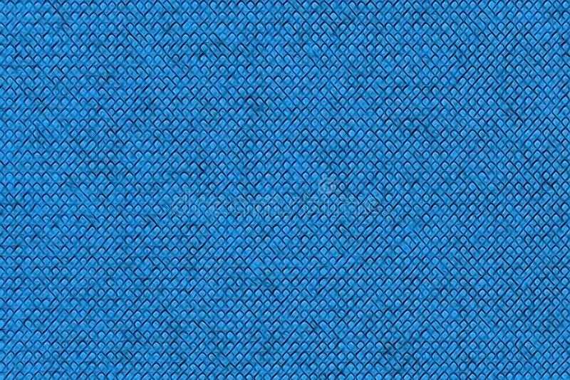 Abstract blue bulge illustration. Seamless texture. Design pattern for background.  vector illustration