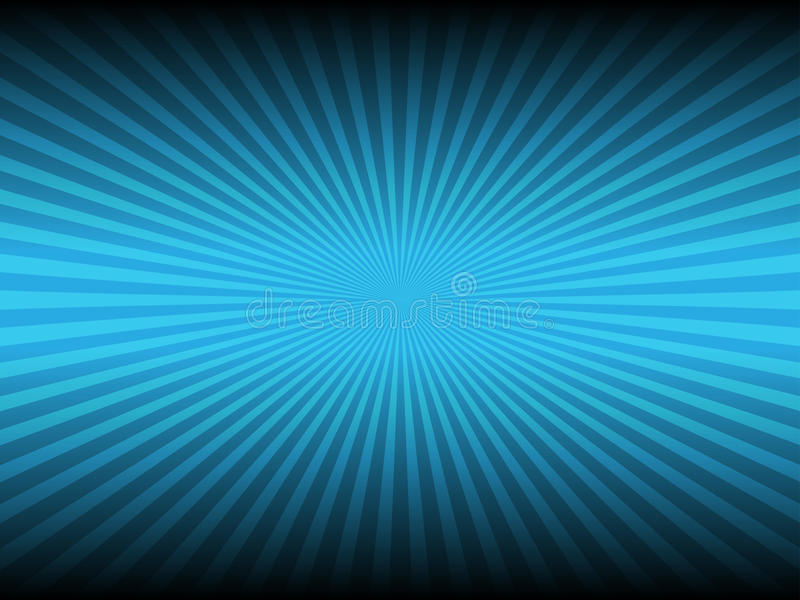 Abstract blue color and line glowing background royalty free illustration