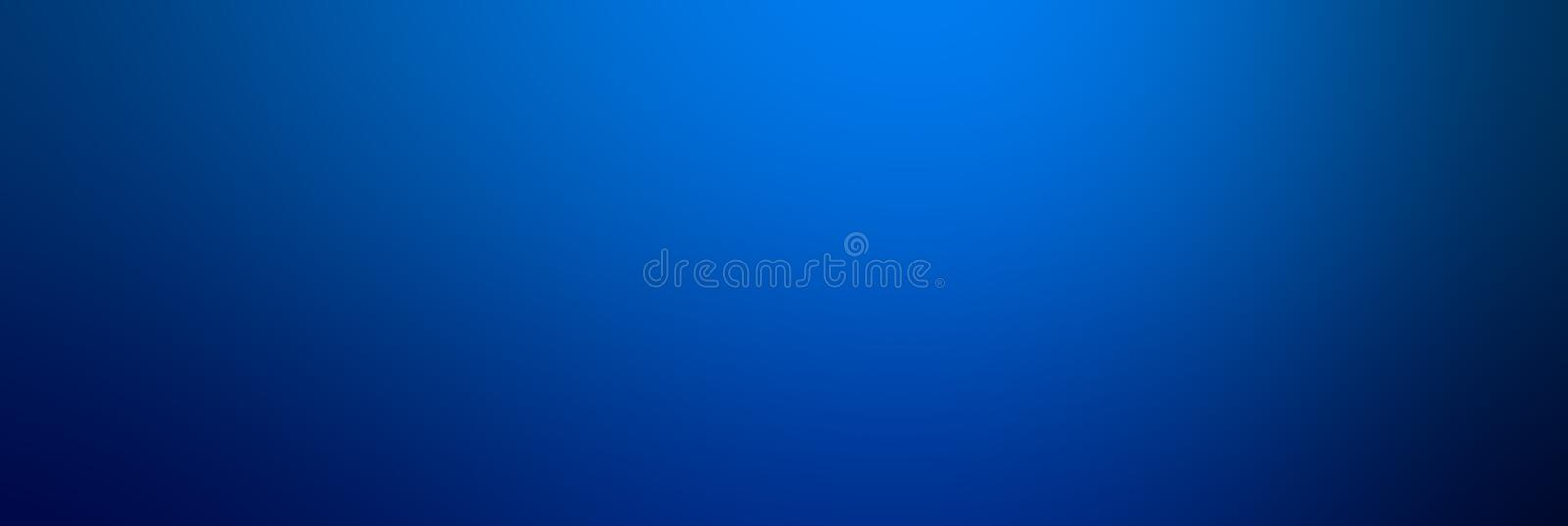 Abstract Blue color Smooth gradient background. Azure or Blue te royalty free stock photos