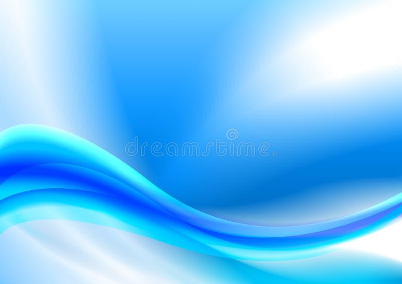 abstract blue composition иллюстрация вектора