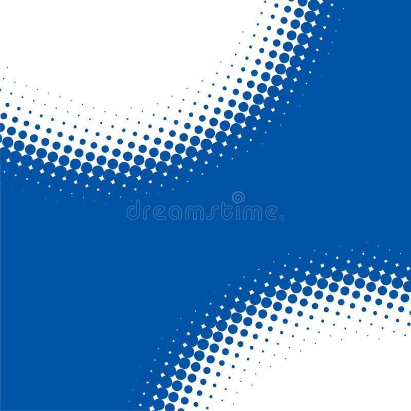 Free Abstract Blue Dot Background Stock Images - 4721544