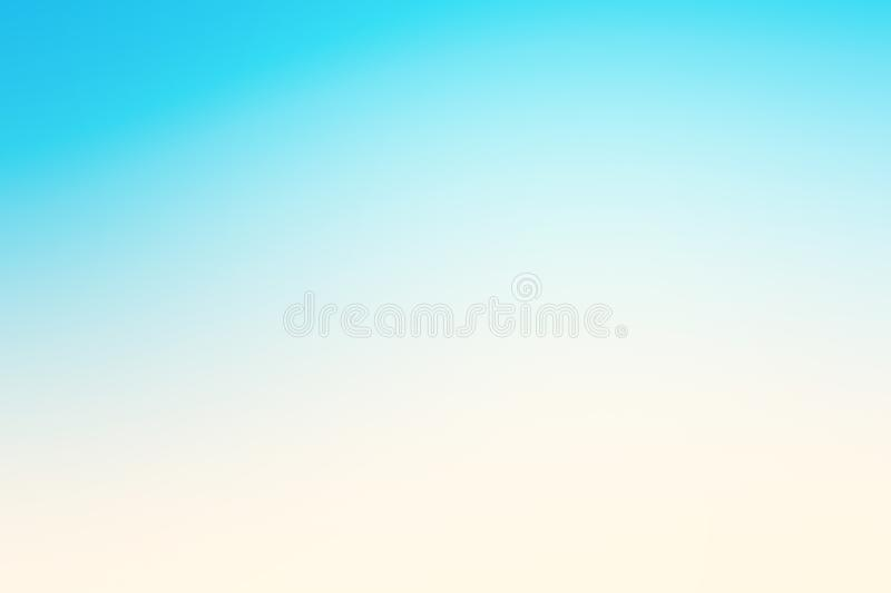 Abstract blue effect background with summer beach mood royalty free stock photo