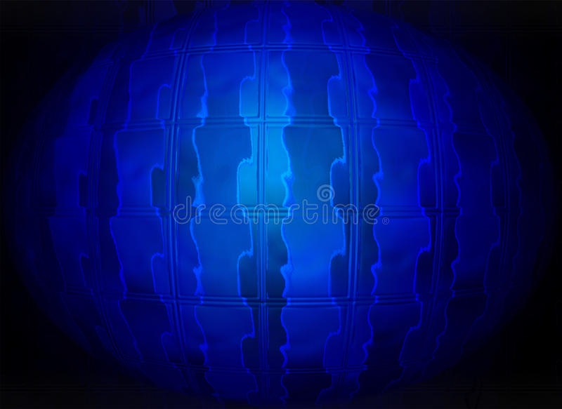 Download Abstract Blue Glass Sphere, Stock Image - Image: 23087483