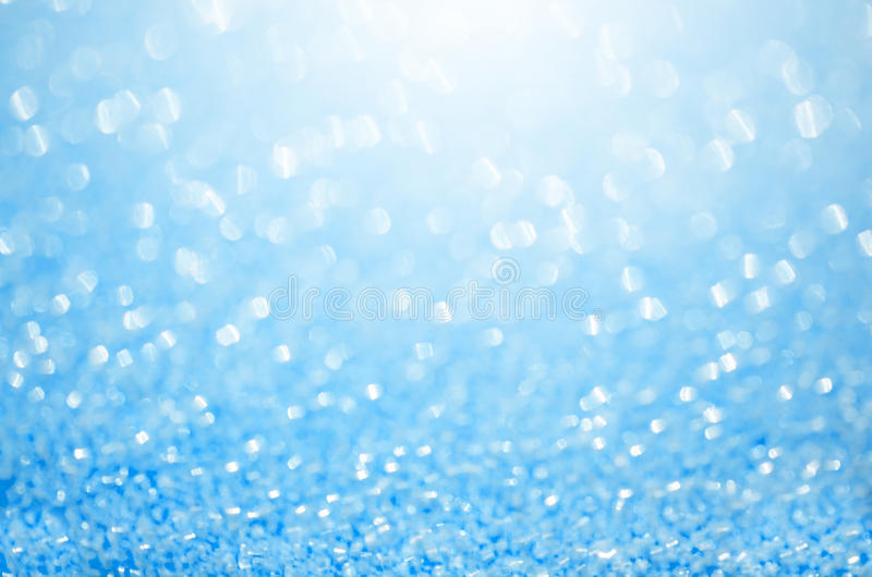 Abstract blue glitter background. stock images