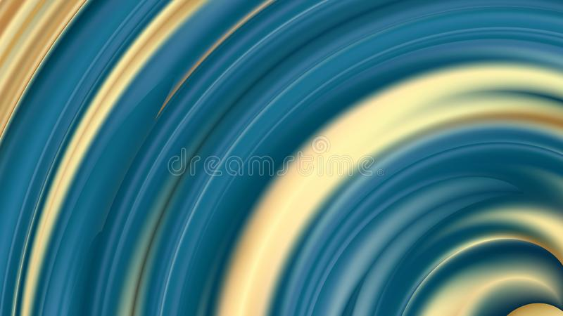 Abstract Blue and Gold Beautiful elegant Illustration graphic art design Background. Abstract Blue and Gold Background Beautiful elegant Illustration graphic art stock illustration