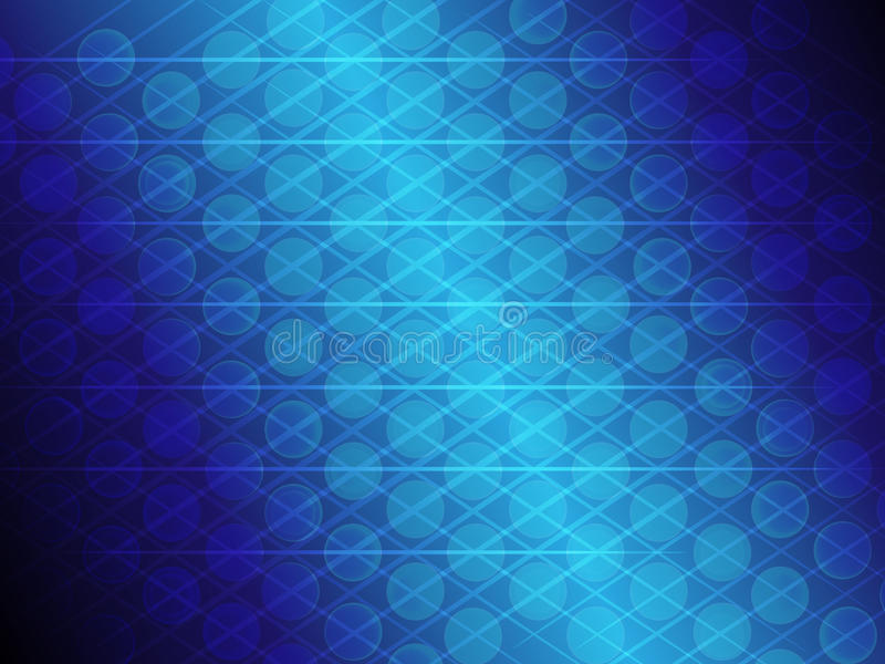 Abstract blue gradient circle and line glowing background royalty free illustration