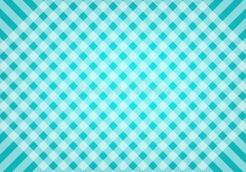 Abstract blue and green scottish background pattern in vector royalty free stock image