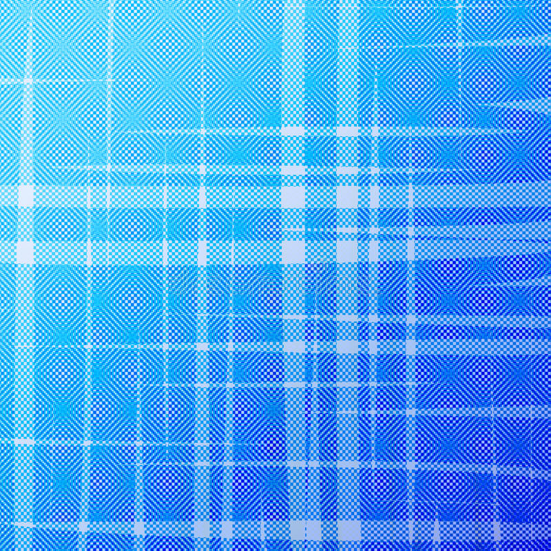 Abstract blue halftone background with uneven stripes vector illustration