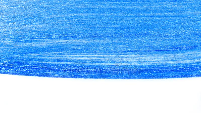 Abstract blue hand drawn acrylic painting creative art background.Closeup shot of brushstrokes colorful acrylic paint on canvas w stock photos
