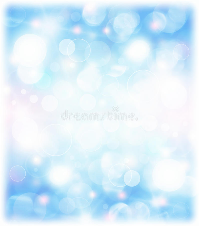 Abstract blue holiday background royalty free illustration