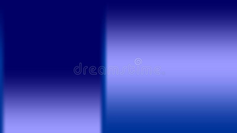 Abstract blue with ice blue color mixture blurred background. Many uses for advertising, book page, paintings, printing, mobile wallpaper, mobile backgrounds royalty free illustration