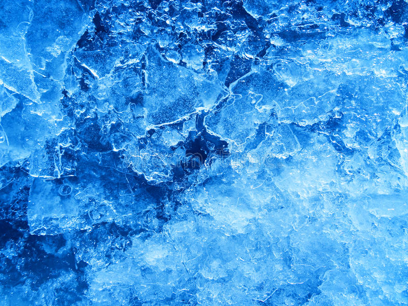 Abstract blue ice texture. stock photos