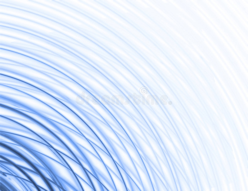 Abstract blue illustration background. Abstract blue wavy illustration background royalty free illustration