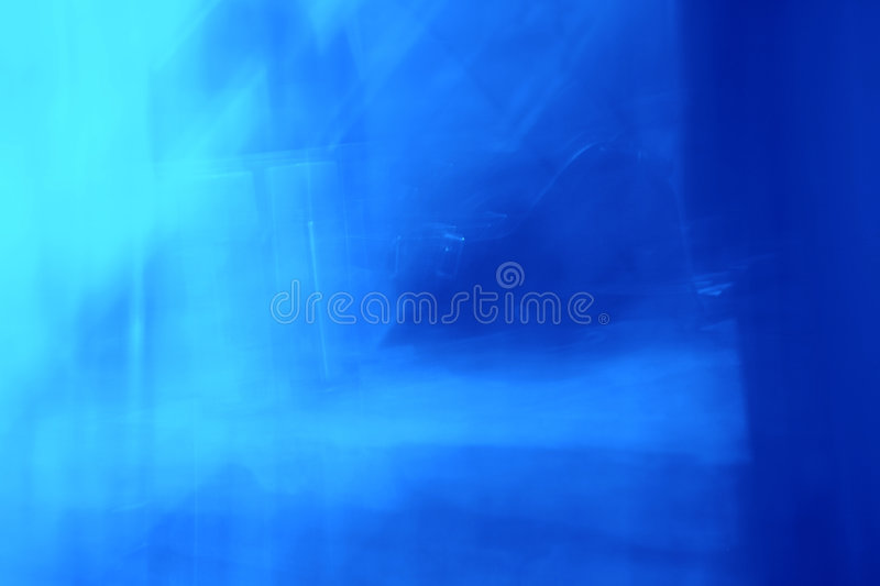 Abstract of Blue Light stock photo