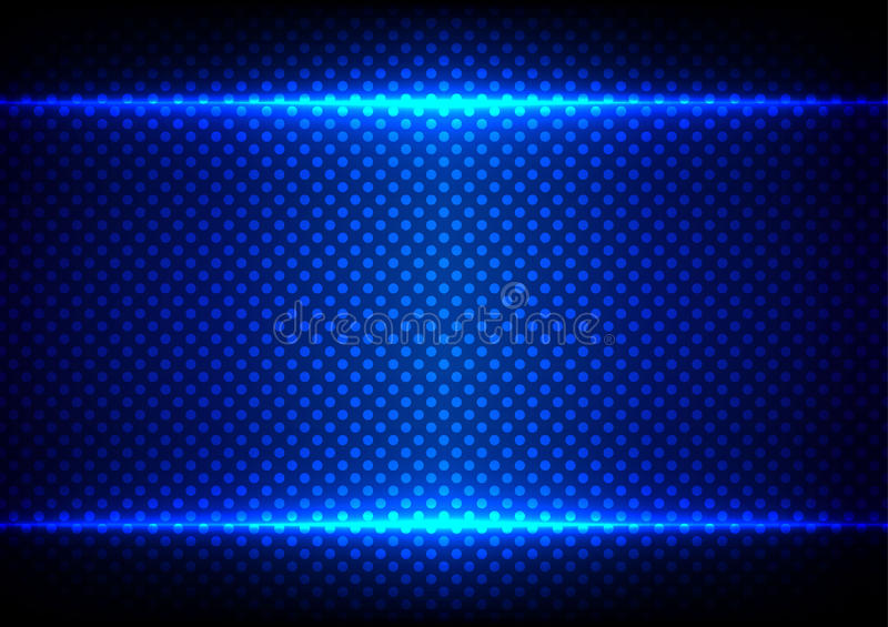 abstract blue light concept with dot pattern background.illustration vector design stock illustration