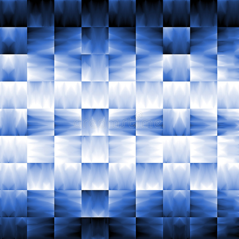 Abstract Blue with light effect stock image